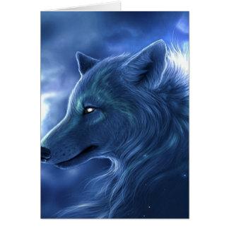 Wolf Guardian Greeting Card