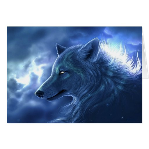 Wolf Guardian Greeting Cards