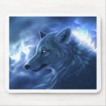 Wolf Guardian Mouse Pad