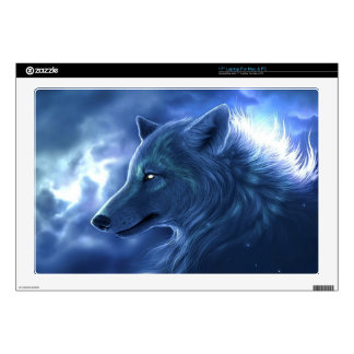 "Wolf Guardian Skins For 17"" Laptops"