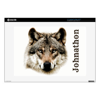 Wolf Head For Men And Teen Boys Laptop Decals