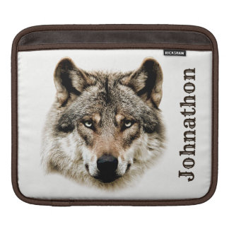 Wolf Head For Men And Teen Boys Sleeve For iPads