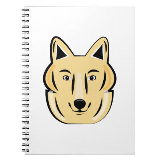 Wolf Head Note Books