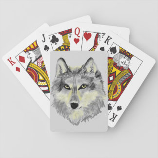 Wolf Head Playing Cards