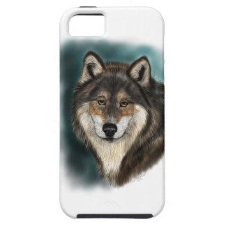 Wolf Head Study I Phone Case iPhone 5 Case