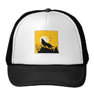wolf howl 2 trucker hat