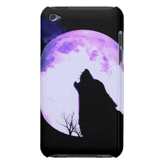 Wolf Howl iTouch Case Barely There iPod Cases