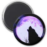 Wolf Howl Magnet Magnet