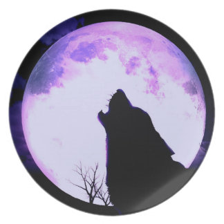 Wolf Howl Plate