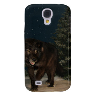 Wolf Howl Snow Winter Tree Forest Destiny Outdoors Galaxy S4 Case