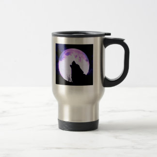 Wolf Howl Stainless Travel Mug