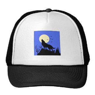 wolf howl trucker hat
