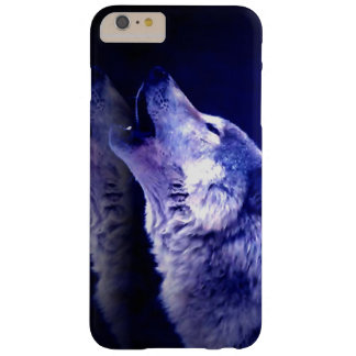Wolf Howling at Moon Barely There iPhone 6 Plus Case