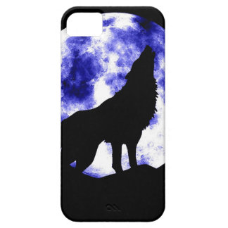 Wolf Howling at Moon iPhone 5 Cover