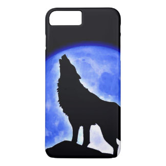 Wolf Howling at Moon iPhone 7 Plus Case