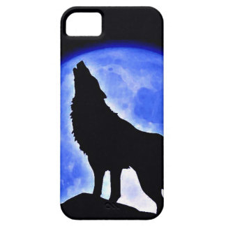 Wolf Howling at Moon iPhone SE/5/5s Case