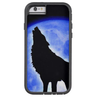 Wolf Howling at Moon Tough Xtreme iPhone 6 Case
