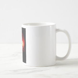 Wolf Howling at Red Night Mugs