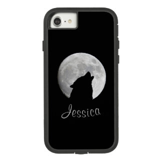Wolf Howling at The Full Moon, Your Name Case-Mate Tough Extreme iPhone 8/7 Case