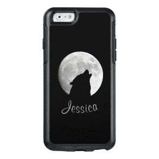 Wolf Howling at The Full Moon, Your Name OtterBox iPhone 6/6s Case