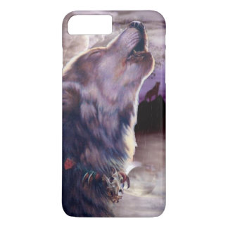 Wolf Howling at The Moon iPhone 8 Plus/7 Plus Case
