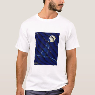 Wolf Howling at the Moon! T-Shirt