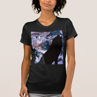 Wolf Howling at the Moon T-shirt