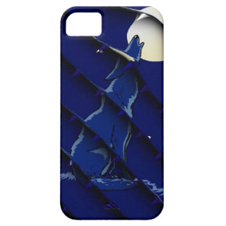 Wolf Howling To The Moon iPhone SE/5/5s Case