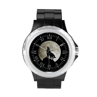 Wolf Howling Wristwatches