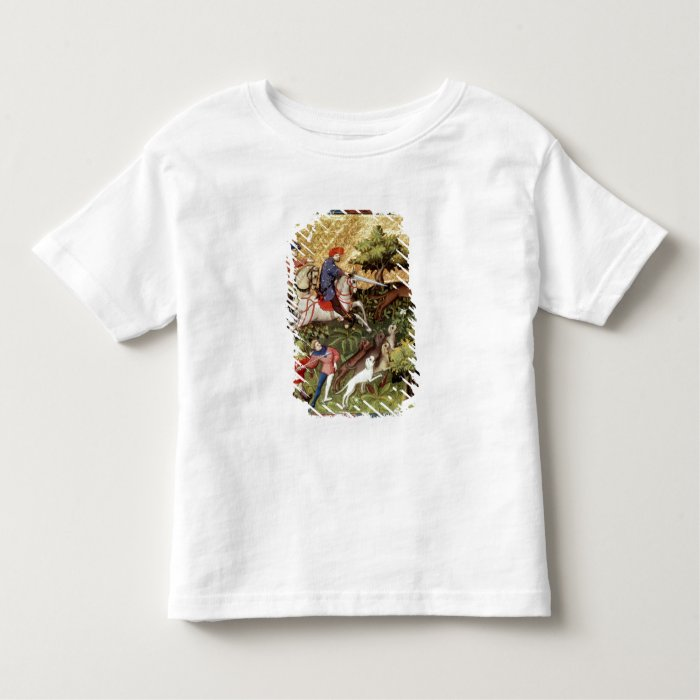 Wolf hunt, from a book toddler t-shirt