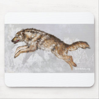 Wolf, hunting mousepads