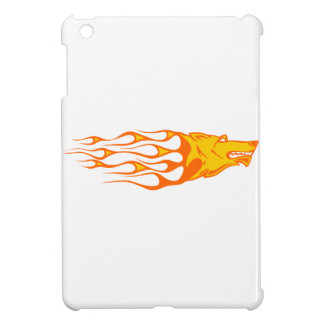 Wolf in Flames Case For The iPad Mini