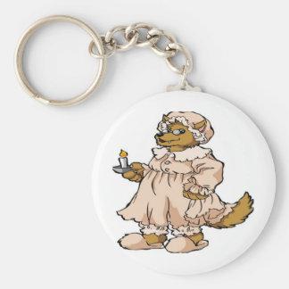 Wolf in Grandma's Clothing Keychain