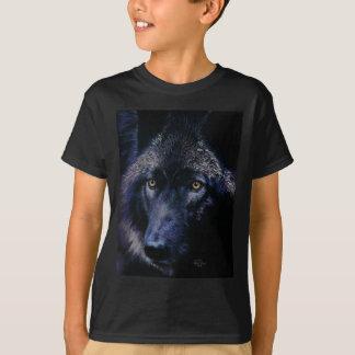 Wolf in moonlight (a) T-Shirt