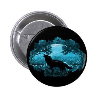 Wolf in Nature 2 Inch Round Button