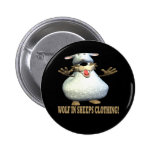 Wolf In Sheeps Clothing Buttons