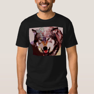 Wolf in Snow Shirt