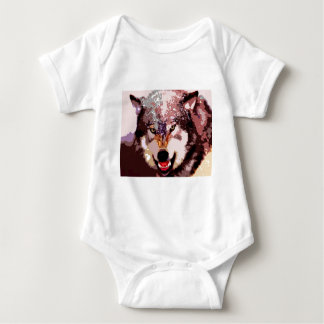 Wolf in Snow T Shirt