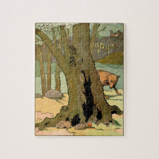Wolf in the Dark Forest Puzzle