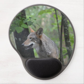 Wolf in the Wilderness Gel Mouse Mats