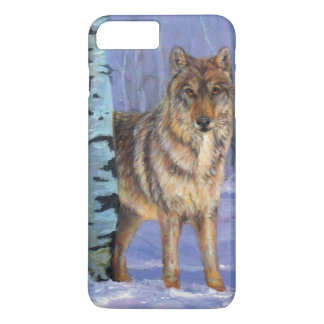 Wolf in winter iPhone 7 plus case