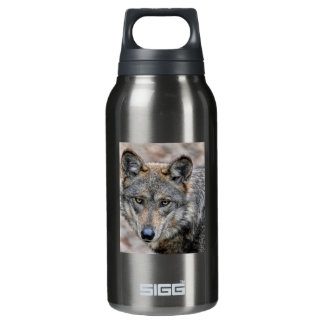 Wolf Insulated Water Bottle