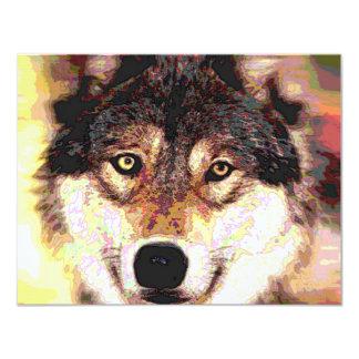 Wolf Custom Invitation