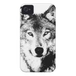 Wolf iPhone 4 Case-Mate Cases
