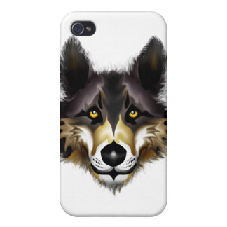 Wolf iPhone 4 Covers
