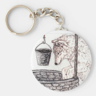 Wolf Keychain The Well