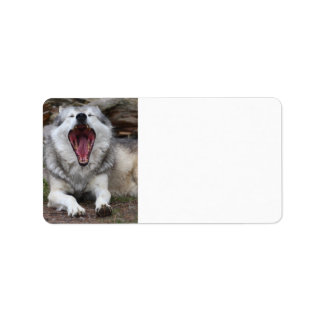 wolf label