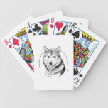 WOLF LABEL PLAYING CARDS