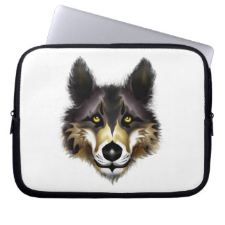 Wolf Laptop Computer Sleeve