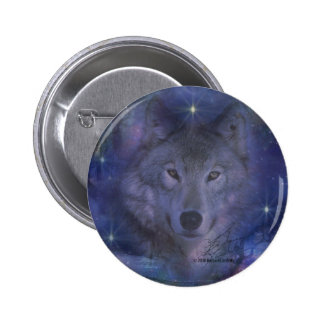 Wolf - Leader of the Pack 2 Inch Round Button